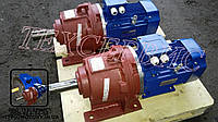 Мотор - редуктор 3МП 50 - 35,5 с электродвигателем 2,2 кВт 1500 об/мин