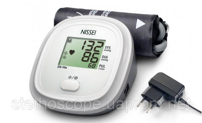 Автоматический тонометр на плечо NISSEI DS-10 + адаптер