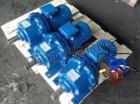 Мотор - редуктор 3МП 40-90 с эл. двиг. 2,2 кВт 3000 об/мин