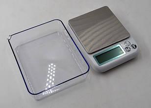 Весы кухонные до 6кг с чашей и дисплеем. MH-889