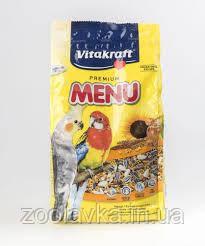 Vitakraft Menu Vital Complex для средних попугаев с медом