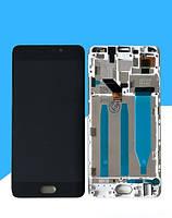 Дисплей для Meizu M6 Note (M721H) + touchscreen, черный, с передней панелью Высокое качество