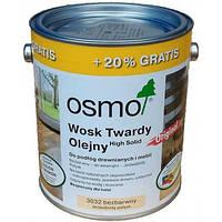 Масло із твердим воском Osmo Hartwachs-Ol Original 3032 3л. Шовковисто-матове