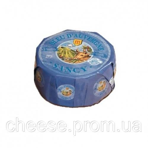 "Сыр ""Bleu d'Auvergne"" (Блё Д""Овернь) 2,6 кг 50% Sancy, фото 1"