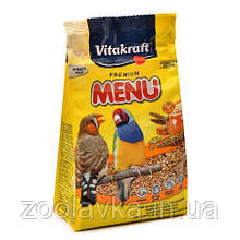 Vitakraft Premium Menu Exotis для экзотических птиц 500 г