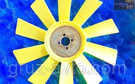Крыльчатка вентилятора ЗИЛ-130 пластиковая 10 лопастей