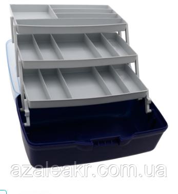 Ящик Flagman 3х-полочный прозрачная крышка