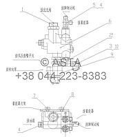 ТОРМОЗНОЙ КЛАПАН - Z35F0901L