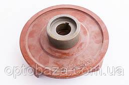 Крыльчатка помпы (для 30, 80) 4 лопасти под шпонку 20 мм для мотопомп (6,5 л.с), фото 3