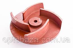 Крыльчатка помпы (для 30, 80) 4 лопасти под шпонку 20 мм для мотопомп (6,5 л.с), фото 2