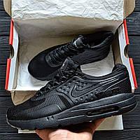 "Кроссовки мужские  Nike Air Max Zero ""Black"".  ТОП КАЧЕСТВО!!! Реплика класса люкс (ААА+), фото 1"