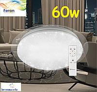 Светодиодный светильник Feron AL5000-S 60W STARLIGHT потолочный с пультом ДУ 3000-6500K 4900Lm