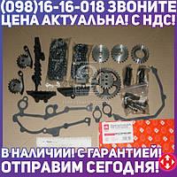 ⭐⭐⭐⭐⭐ Р/к ГРМ 72/92 двигатель 405,406,409 полный (рычаги,звезд.,цепи,успок.)  406.3906625-О3