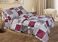 Двуспальное постельное белье бязь голд - Шотландка