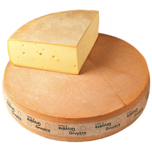 Сыр Грюйер весовой 3,5кг. 1/12 50%  Entremont