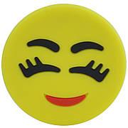 Попсокет Popsocket (Держатель для телефона) Unipha ART610 3D Смайлик Желтый