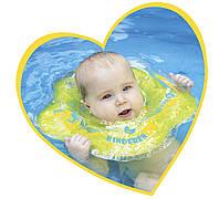 Круг для купания Love NEW крепление: липучка + карабин