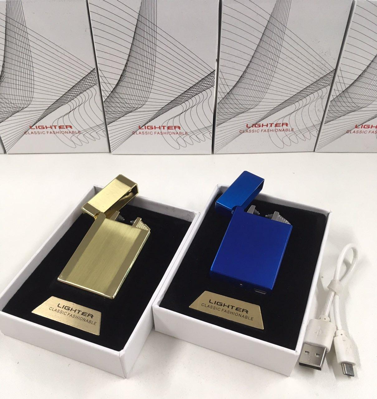 Электроимпульсная usb зажигалка с зарядкой от USB ZA-406 (100)