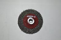 Коническая щётка OSBORN D100x10 мм, гофрированная стальная проволока 0,30 мм, Т-20 мм