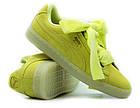 Оригинальные женские кроссовки Puma Suede Heart Reset 38-39р. 363229-03, фото 5