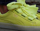 Оригинальные женские кроссовки Puma Suede Heart Reset 38-39р. 363229-03, фото 3