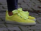 Оригинальные женские кроссовки Puma Suede Heart Reset 38-39р. 363229-03, фото 2