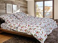 Двуспальное постельное белье бязь голд - Маки
