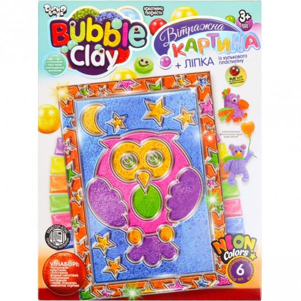 Набор для креативного творчества «BUBBLE CLAY» УКР. Витражная картина, BBC-02–01 U