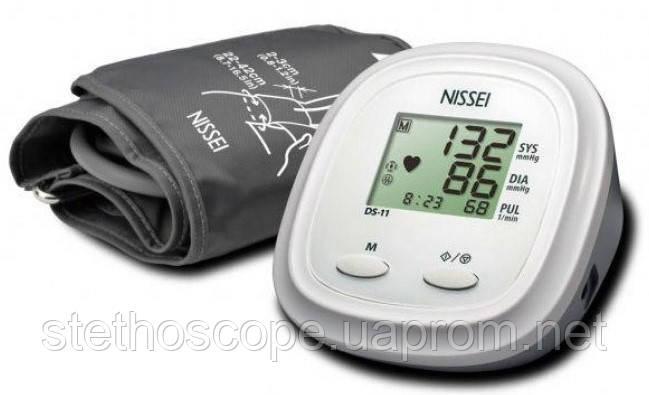 Автоматический тонометр на плечо NISSEI DS-11 индикатор аритмии манжета 22-42 см.