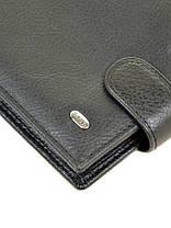 Натуральная кожаное мужское портмоне Dr.BOND m13-1/1 черное, фото 2