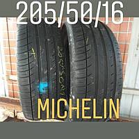 Летние шины б/у 205/50/16 Michelin pilot exalto