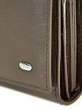 Женский кожаный кошелек Dr.BOND DRW34-1 черный, фото 2