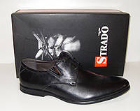 Strado мужские туфли без каблука кожа.