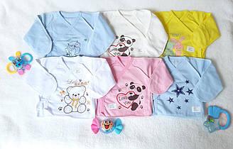 Распашонки для новорожденных (футер)