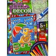Набор для креативного творчества «GLITTER DECOR» УКР., фото 2
