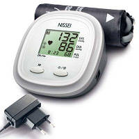 Автоматический тонометр на плечо NISSEI DS-11 + адаптер индикатор аритмии манжета 22-42 см.