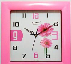 Годинники настінні Rikon 10951 PIC Pink