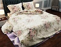 Двуспальное постельное белье бязь голд - Гобилен цветы