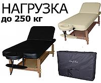 Массажный стол DON торговой марки ART OF CHOICE Черный