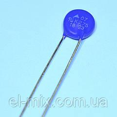 Варистор d07мм 275VAC (07K275) B72207S0271K101 Epcos