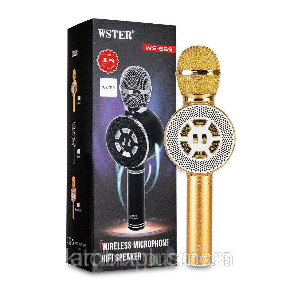 Микрофон-караоке Wster WS-669