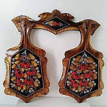 Набор досок , петриковская роспись