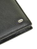 Натуральна шкіряний чоловічий гаманець Dr.BOND М9-1 чорний, фото 3
