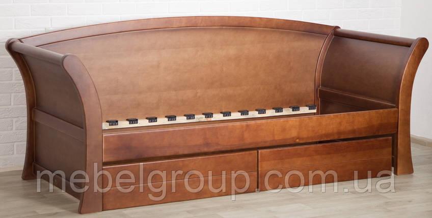 Ліжко - диван Адріатика з ящиками, фото 2
