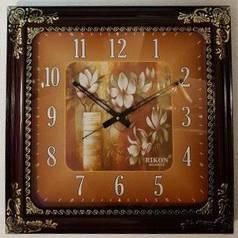 Годинники настінні Rikon 14851 Brown