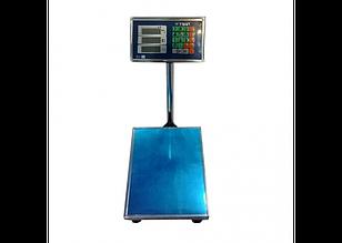 Весы торговые WIMPEX 600kg 45X60см. Металлическая голова