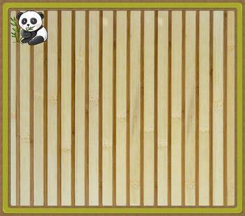 """Бамбуковые обои """"Зебра белая 1+1"""""""