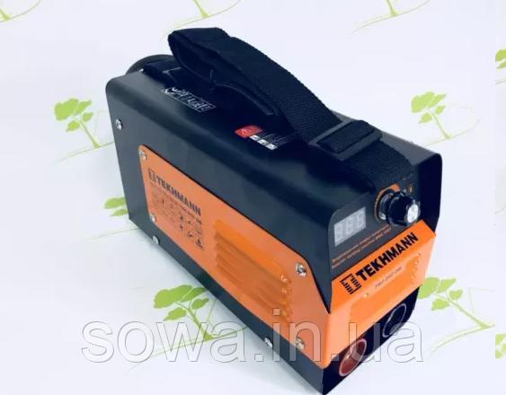 ✔️ Сварочный Инвертор Tekhmann TWI-260 DB / 7300 Вт / Германия