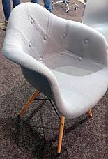 Кресло  Leon Soft шерсть , серый, фото 3
