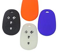 Силиконовый чехол для ключа Toyota 4 кнопки ВСЕ ЦВЕТА В НАЛИЧИЕ